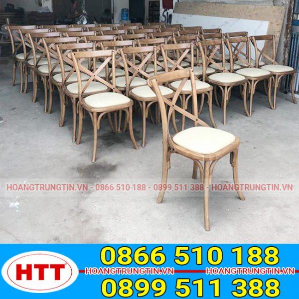 Bàn ghế cafe gỗ Bistro