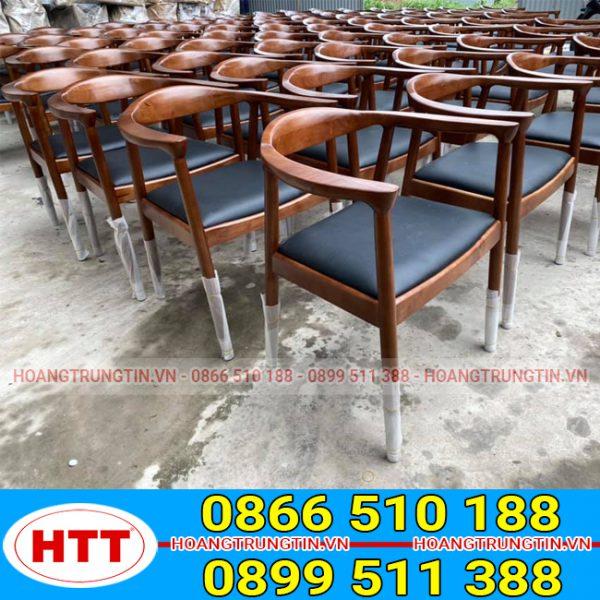 Ghế gỗ cafe Kenedy
