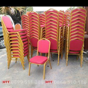 ghế sắt nhà hàng tiệc cưới