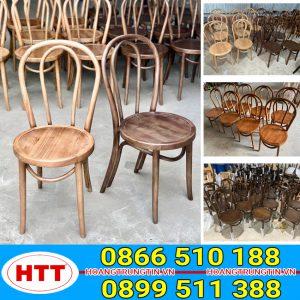 Cafe ghế gỗ Thonet