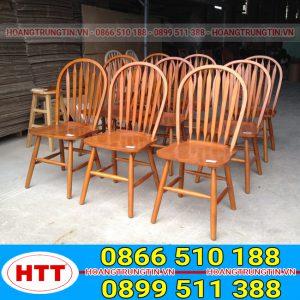 Ghế gỗ cafe ( Ghế windsor )-GGHTT013