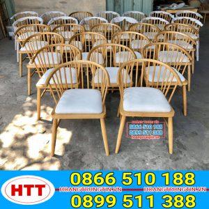 Bàn ghế gỗ windsor circle - GGHTT016