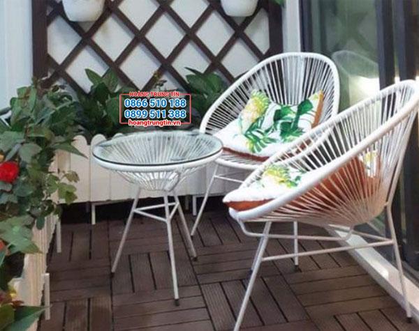 Mẫu bàn ghế ban công đẹp