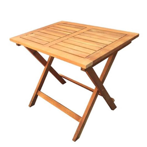 Bàn cafe kiểu xếp từ gỗ bền bỉ