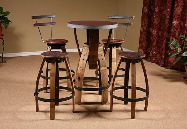Bàn ghế bar - beer club từ chất liệu gỗ