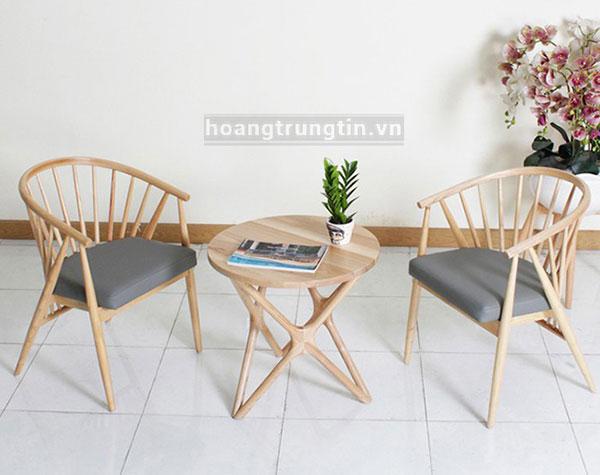 Bàn ghế khách sạn - resort từ gỗ đẹp