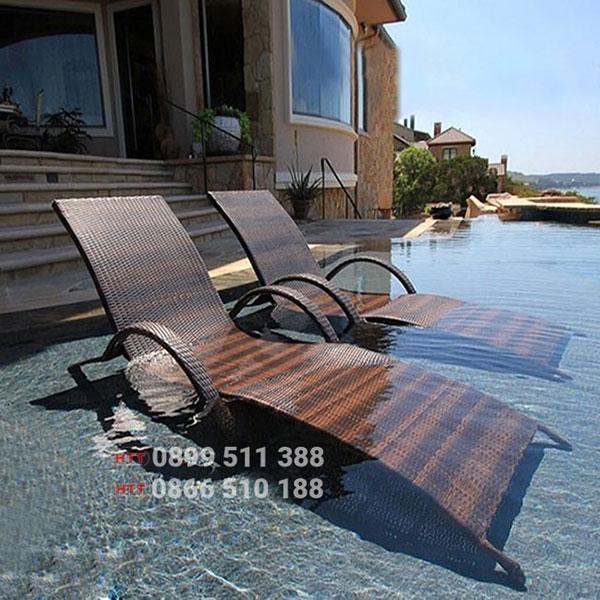 Bàn ghế khách sạn - resort HTT001