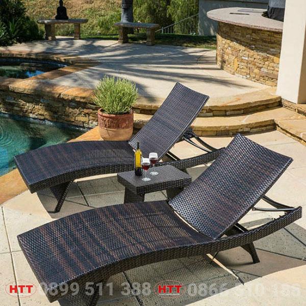 Bàn ghế khách sạn - resort HTT003