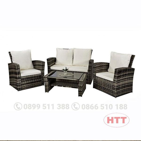 Ghế cafe kiểu dáng sofa HTT004