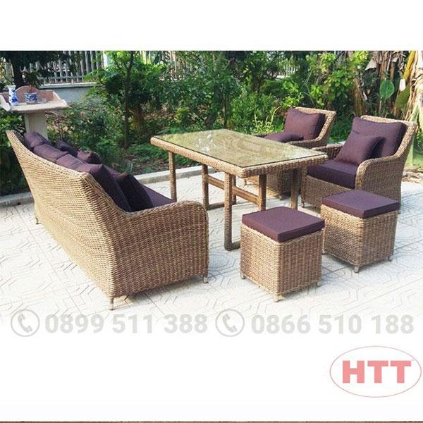 Ghế cafe kiểu dáng sofa HTT018