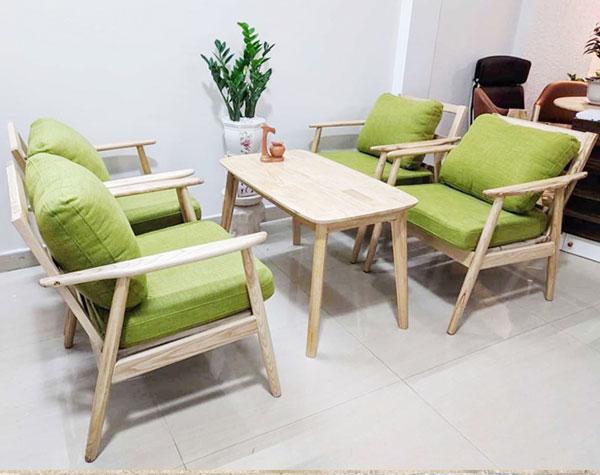 Ghế cafe kiểu dáng sofa SFHTT008