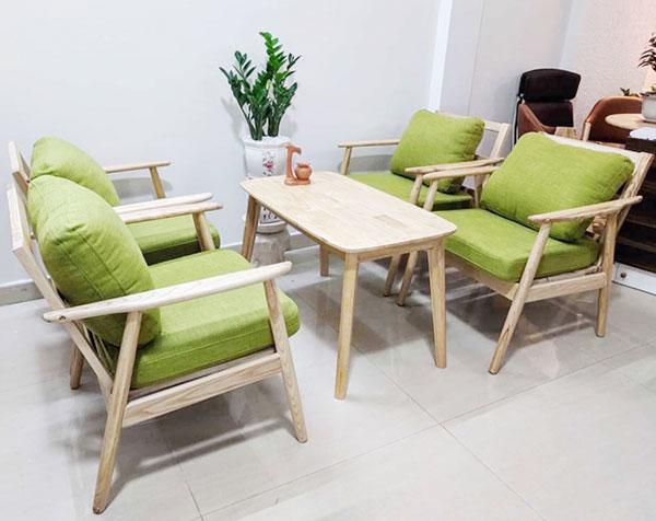 Sofa cafe đẹp mắt