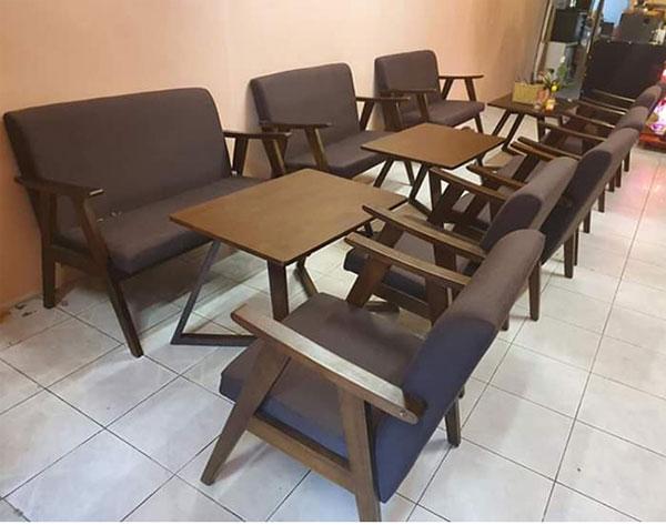 Sofa cafe gỗ SFHTT002