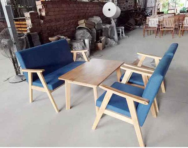 Sofa cafe gỗ SFHTT003