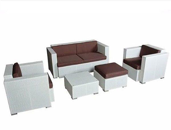 Sofa cafe mây nhựa HTT015